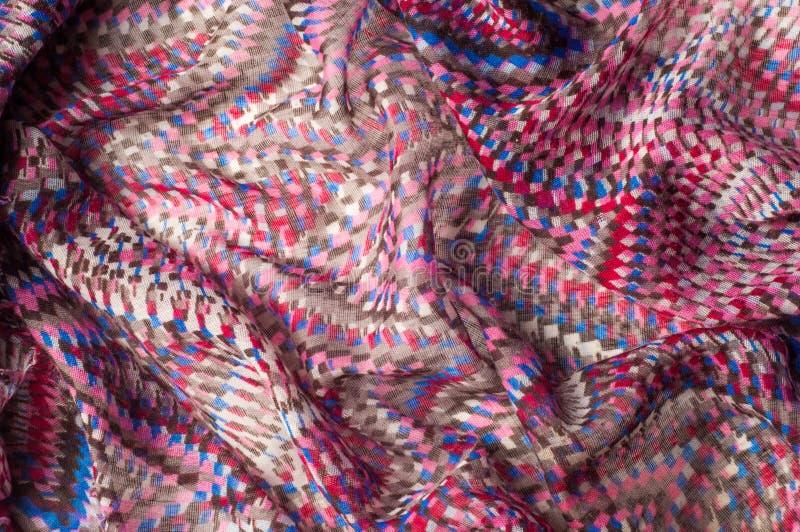 纹理,背景,样式 米索尼co一张羊毛羊毛卡片  免版税库存图片