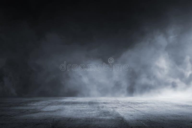 纹理黑暗的水泥地板 免版税库存图片