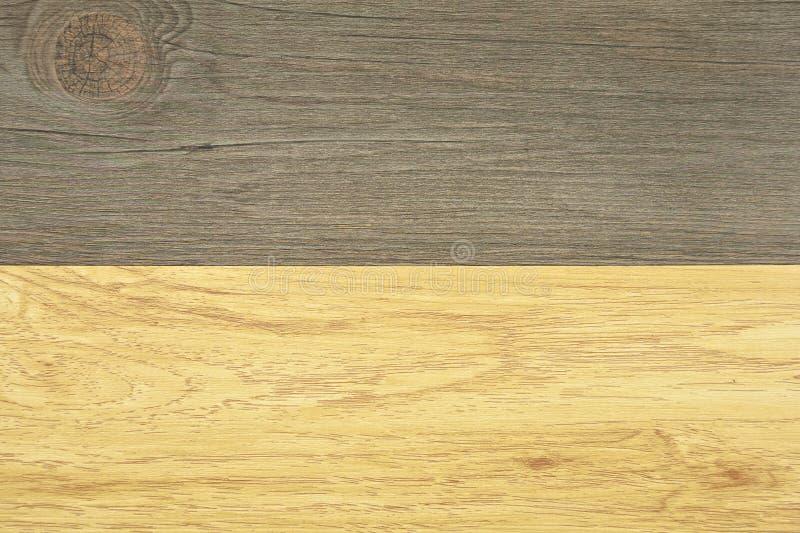 纹理年轮两口气木头背景 库存图片