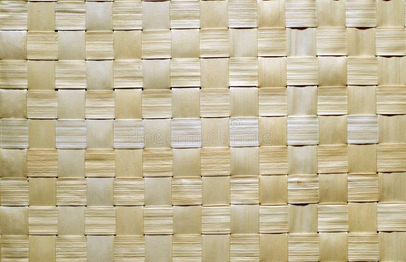 纹理wattled木头 免版税库存图片