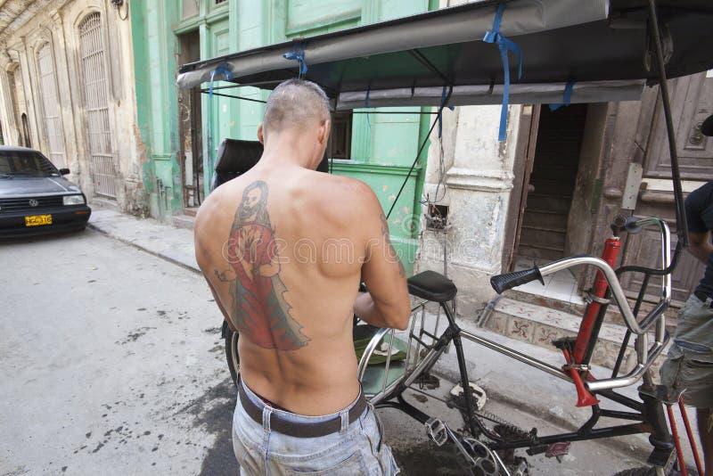 纹身花刺作为时尚 库存照片