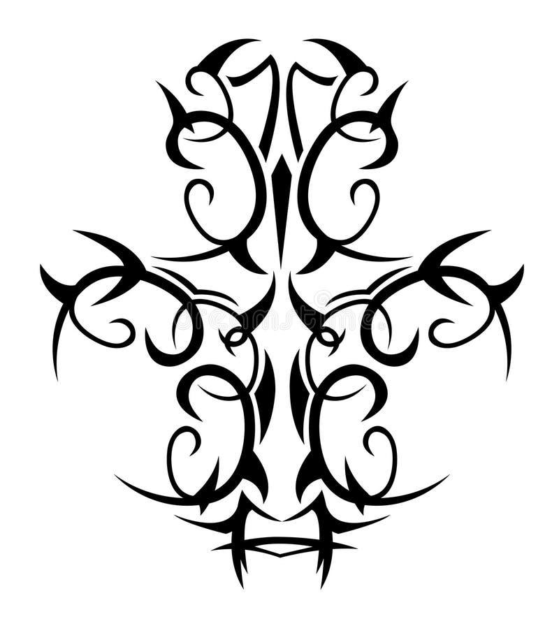 纹身花刺 库存例证
