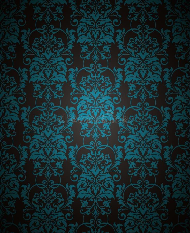 纺织品、纸或者表面纹理的传染媒介无缝的样式背景 皇族释放例证