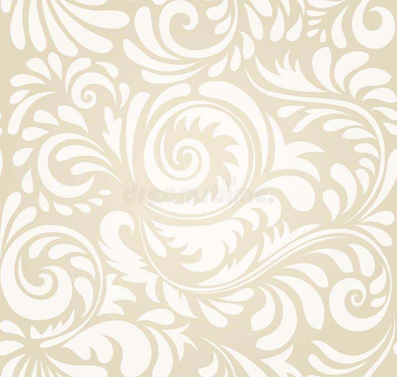 纺织品、纸或者表面纹理的传染媒介无缝的样式背景 向量例证