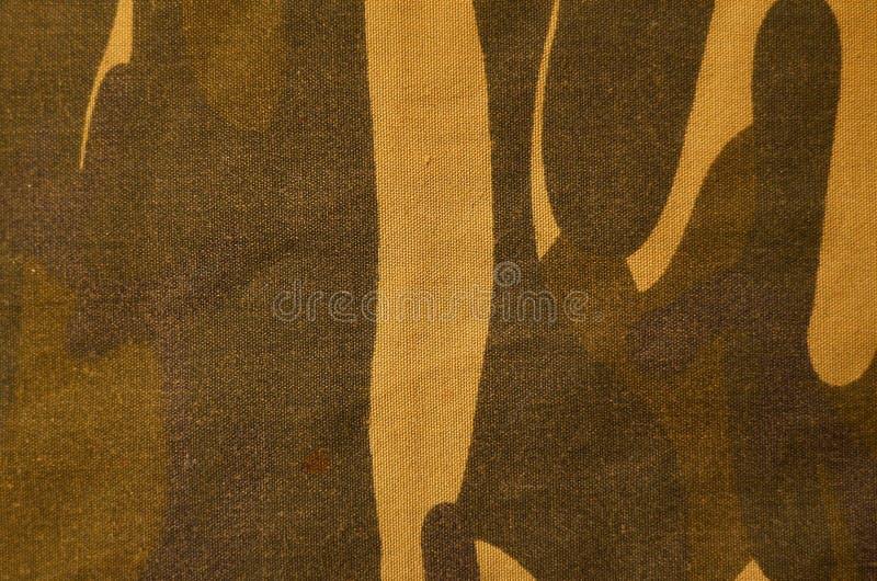 纺织品伪装布料纹理 向量例证