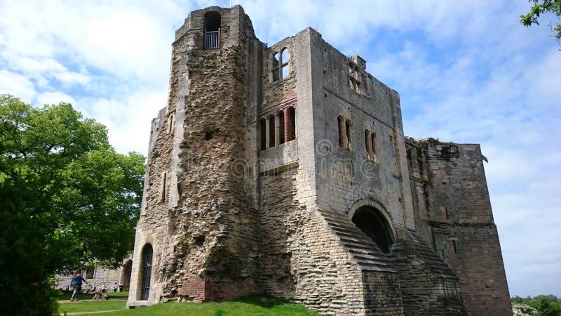 纽瓦克城堡 库存照片