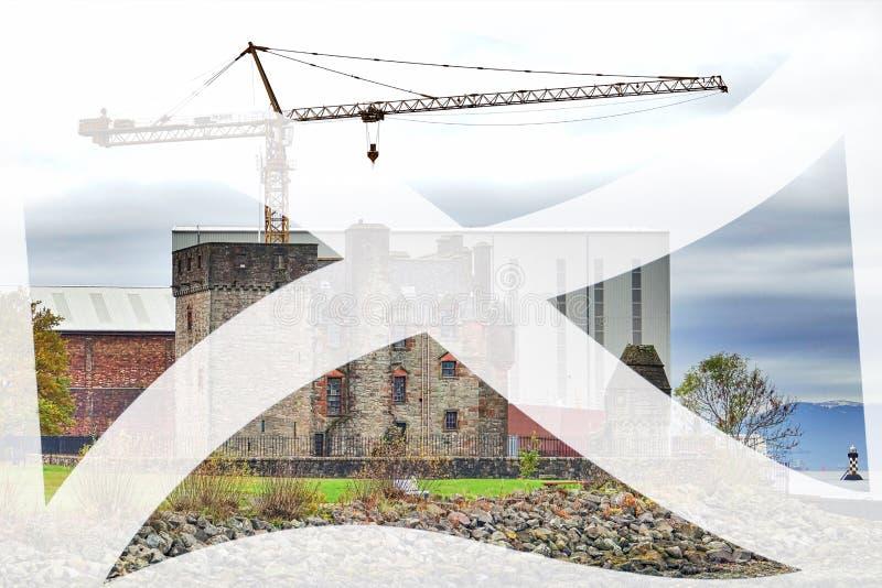 纽瓦克城堡 免版税库存照片