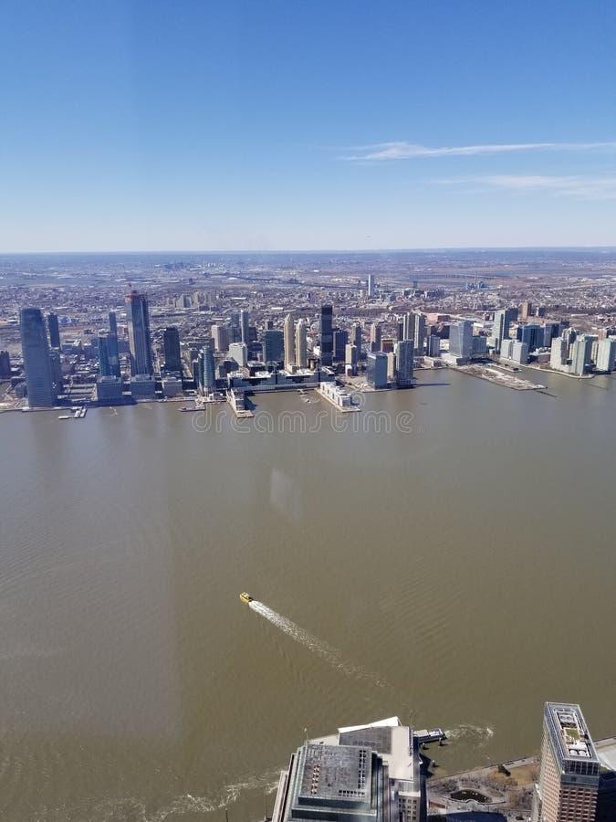 纽约从上面 库存图片