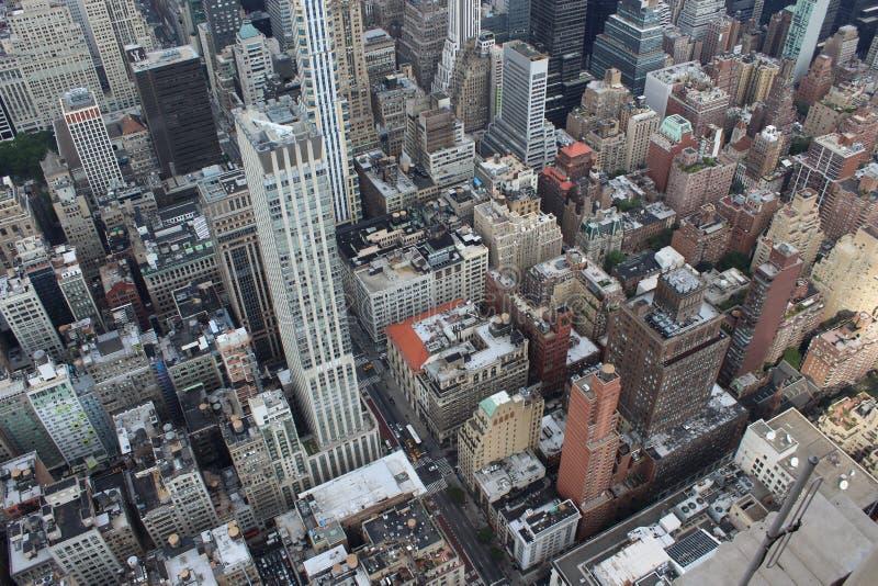 纽约从上面 免版税库存照片