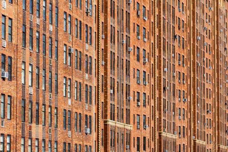 纽约公寓背景 库存图片
