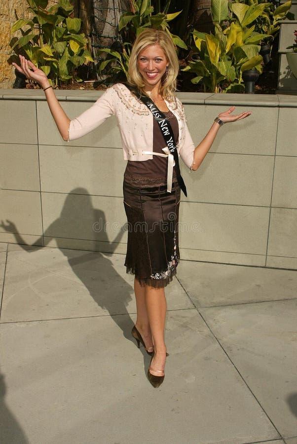 纽约在操作美国小姐壮丽的场面2006年的照片的Kandice Pelletier小姐。 高地和好莱坞,好莱坞, CA. 01-11-06 库存照片