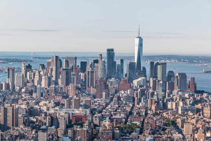 纽约地平线 库存照片
