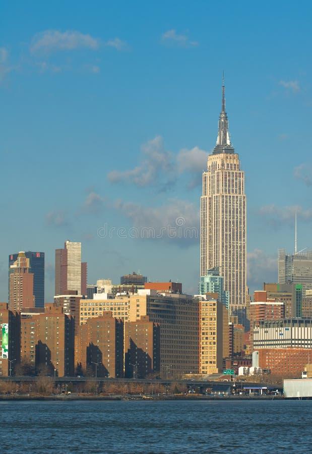 纽约地平线  免版税库存图片