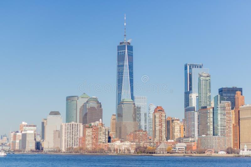 纽约大厦与 免版税库存图片