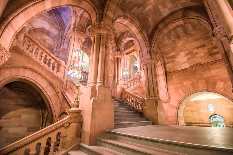 纽约州议会大厦大厦 免版税库存照片