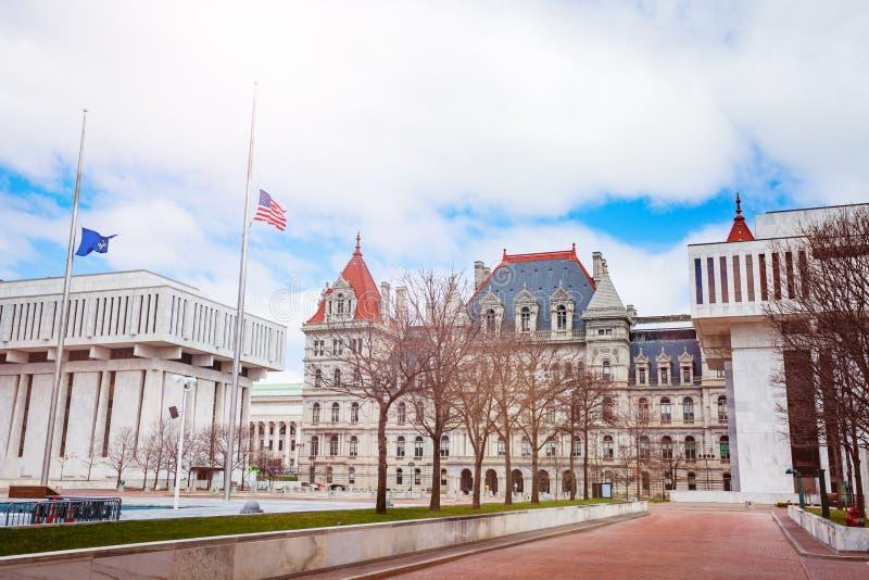 纽约州议会大厦,奥尔巴尼 库存图片