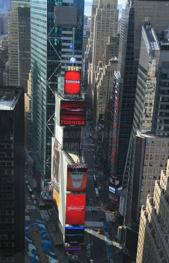 纽约时报广场 免版税图库摄影