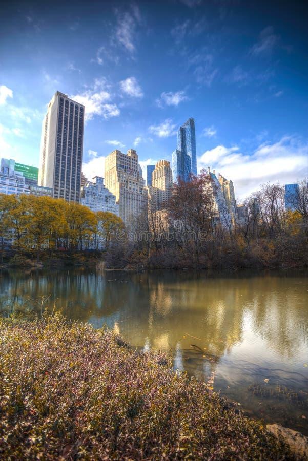 纽约曼哈顿中央公园 库存照片