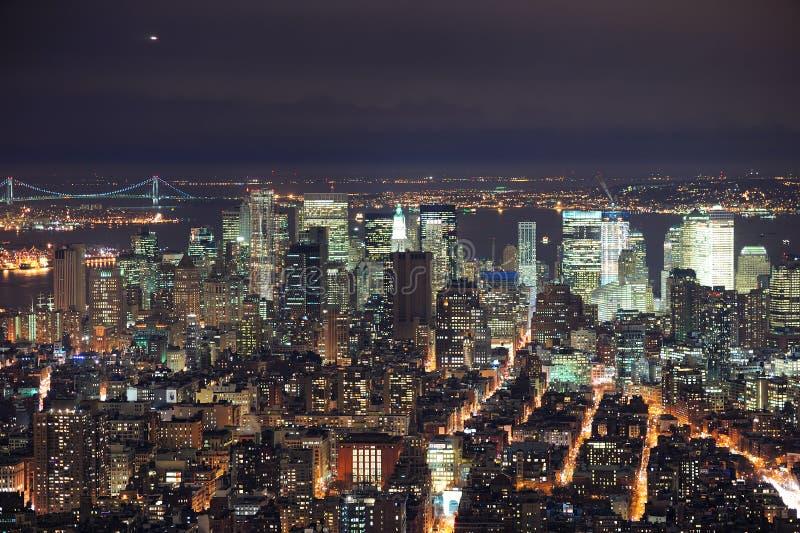 纽约曼哈顿 库存图片