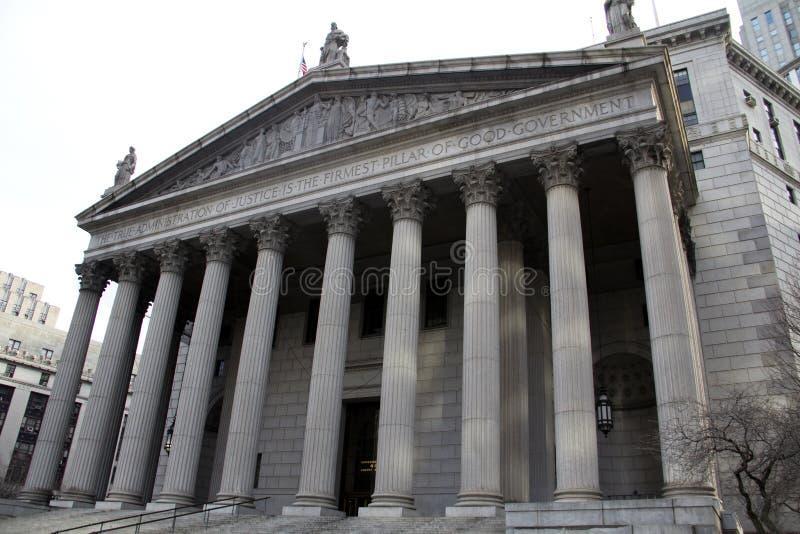 纽约最高裁判所 库存图片