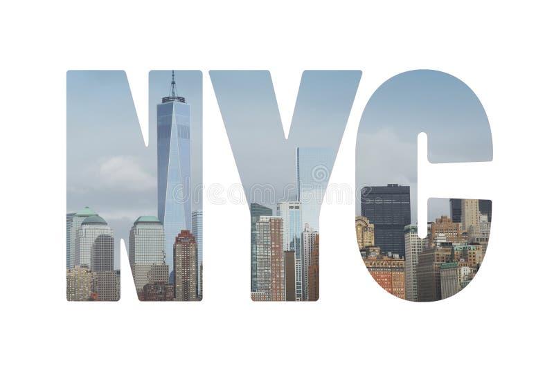纽约概念 免版税库存照片