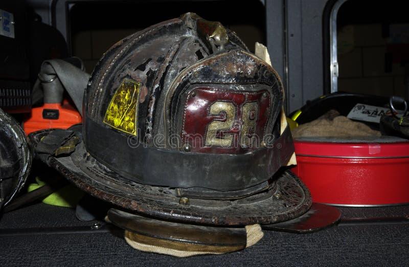 纽约消防队赫尔穆特 免版税库存图片