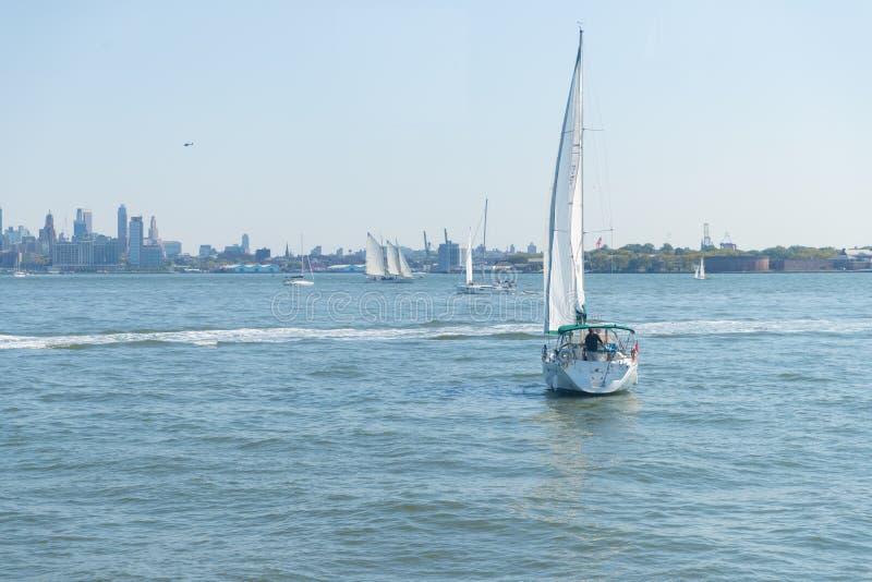 纽约港口 库存照片