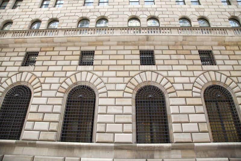 纽约联邦储备银行  免版税图库摄影