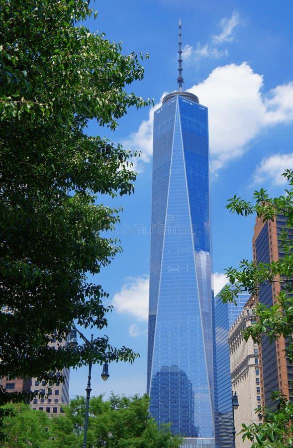 纽约自由塔  免版税库存照片