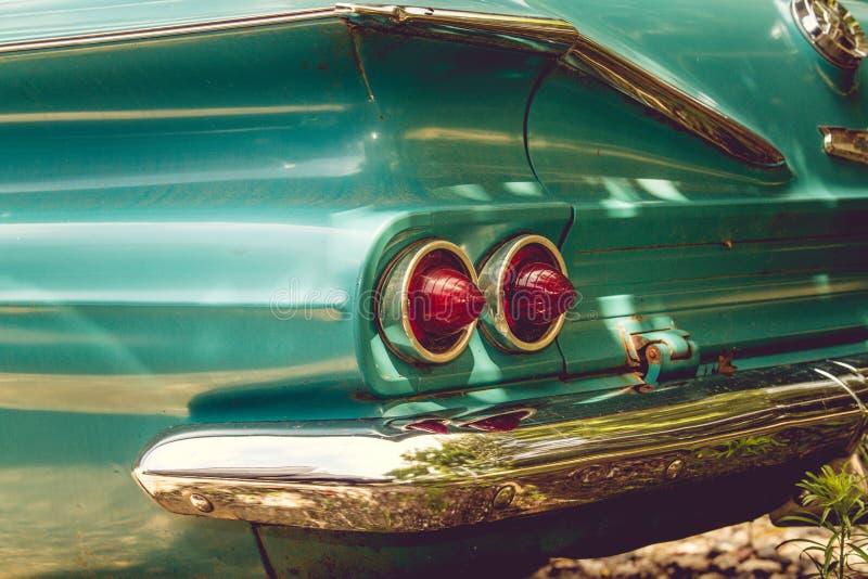 纽约葡萄酒汽车20世纪50年代 免版税库存照片