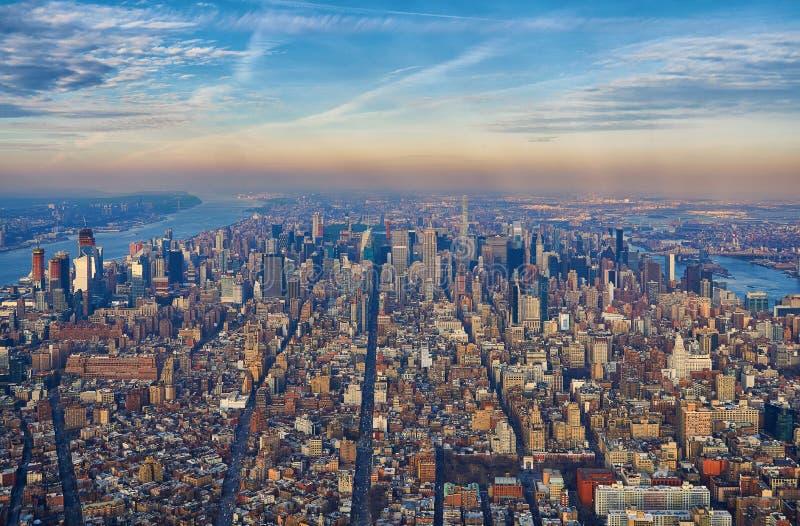 纽约街道和大道  免版税库存照片