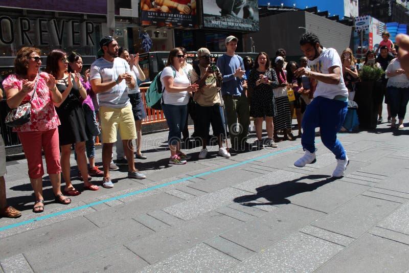 纽约街道街道执行者 免版税库存照片