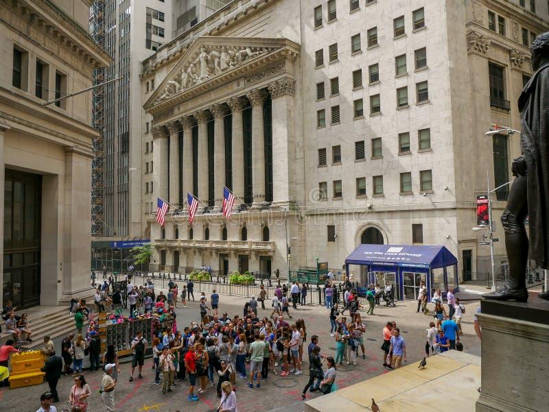 纽约证券交易所大厦 免版税库存照片
