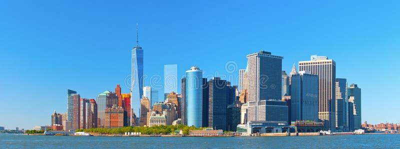 纽约降低曼哈顿 免版税库存照片
