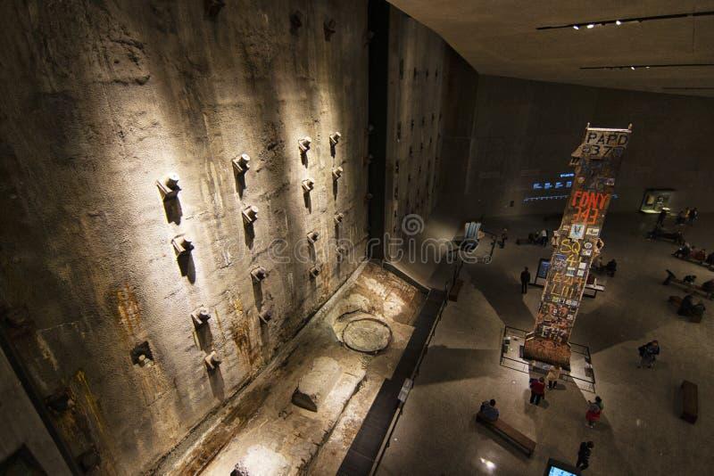 纽约香港世界贸易中心9月11日博物馆 库存图片