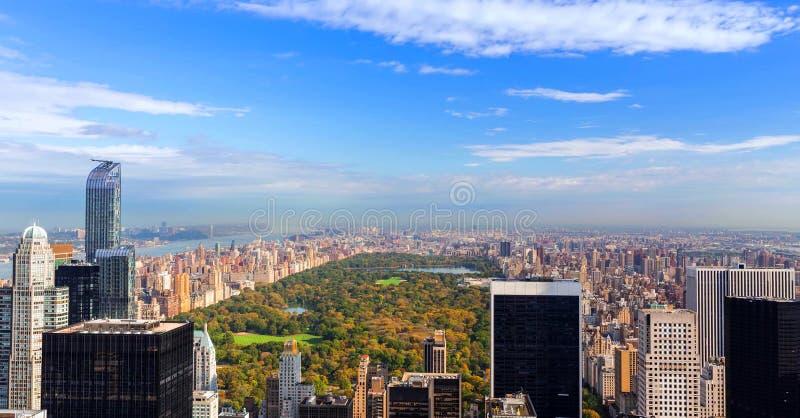纽约,美国地平线的储蓄图象  库存图片