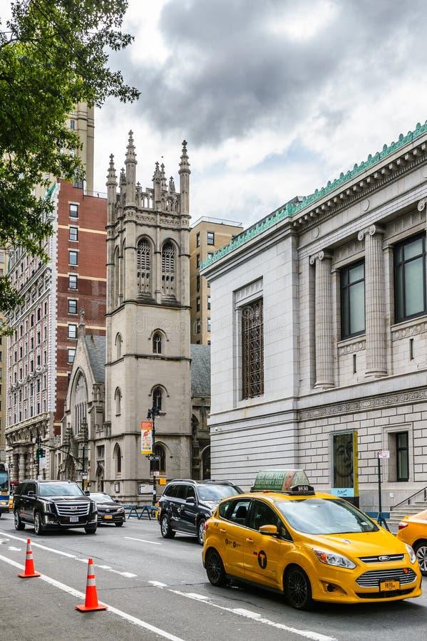 纽约,美国建筑学  库存图片