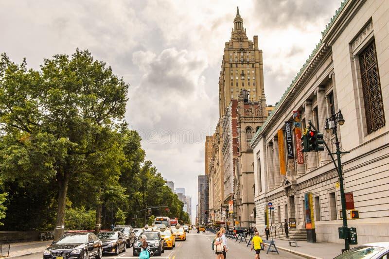 纽约,美国建筑学  图库摄影