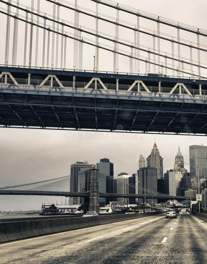 纽约,美国的结构和颜色 库存照片