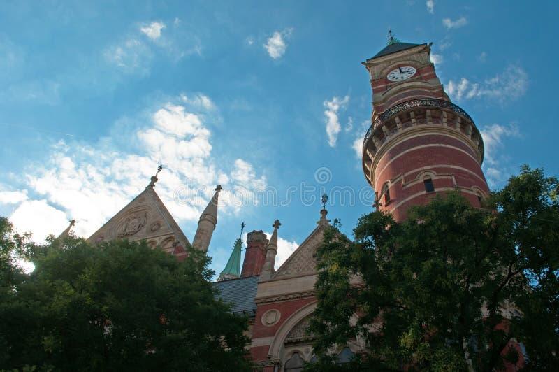 纽约:2014年9月15日的杰斐逊市场分支 图库摄影