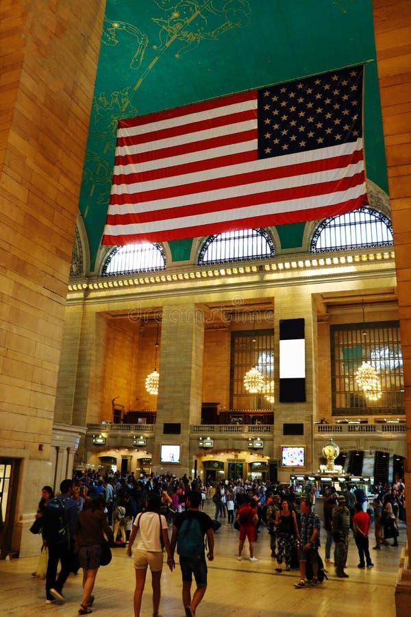 纽约- 2018年8月26日:主要大厅盛大中央终端,纽约 免版税图库摄影