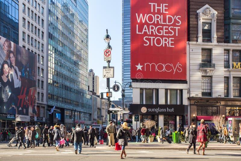 纽约Macys 免版税图库摄影