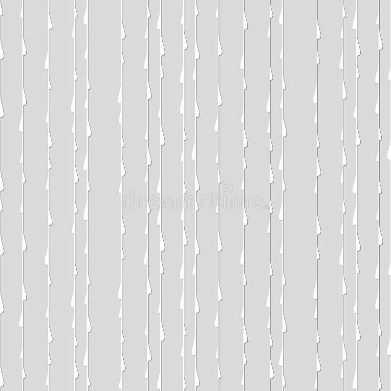 线和小点的无缝的样式 几何墙纸 异常 皇族释放例证