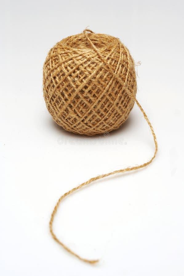 线团绳索 免版税库存图片