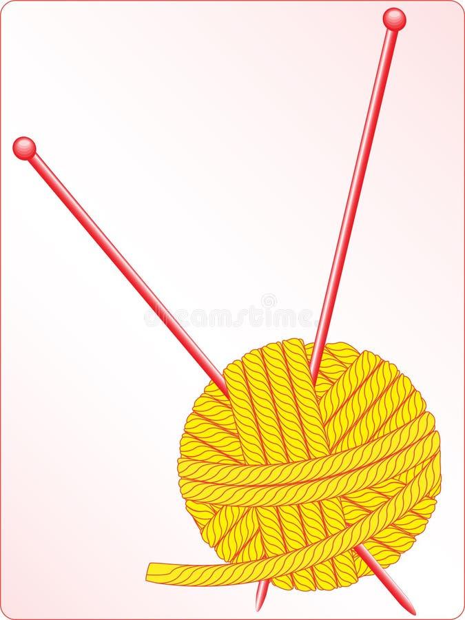 线团 向量例证