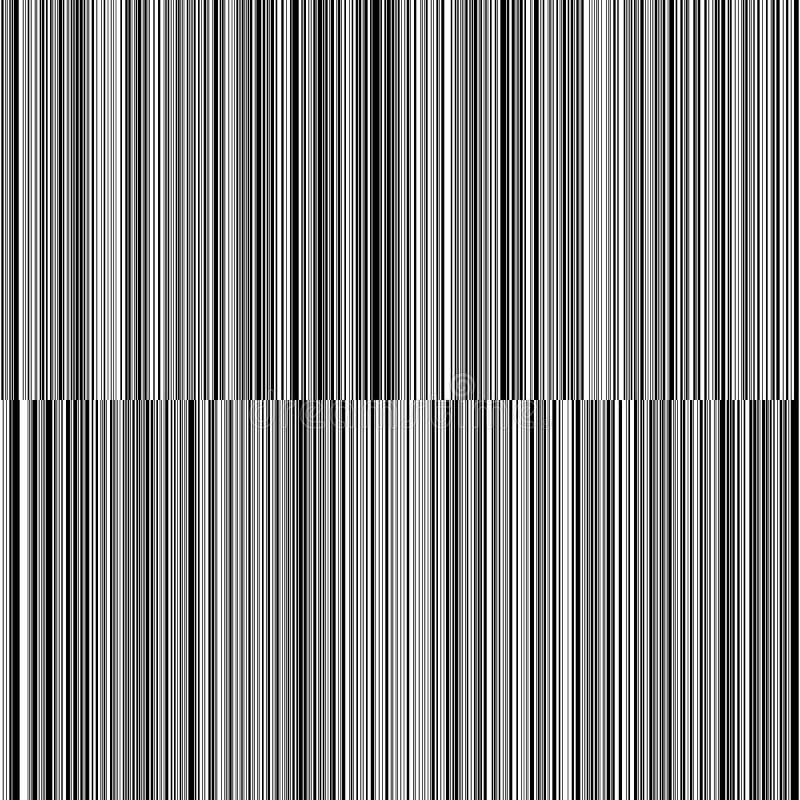 线易变的厚度黑白垂直线背景 免版税库存图片