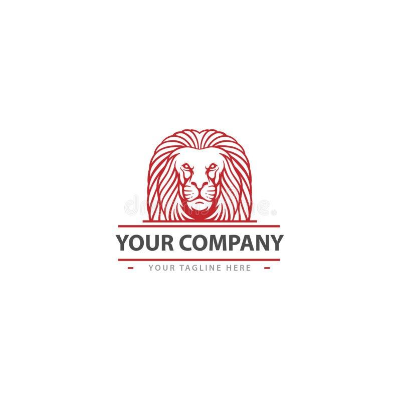 线艺术狮子诊所商标/象 图库摄影