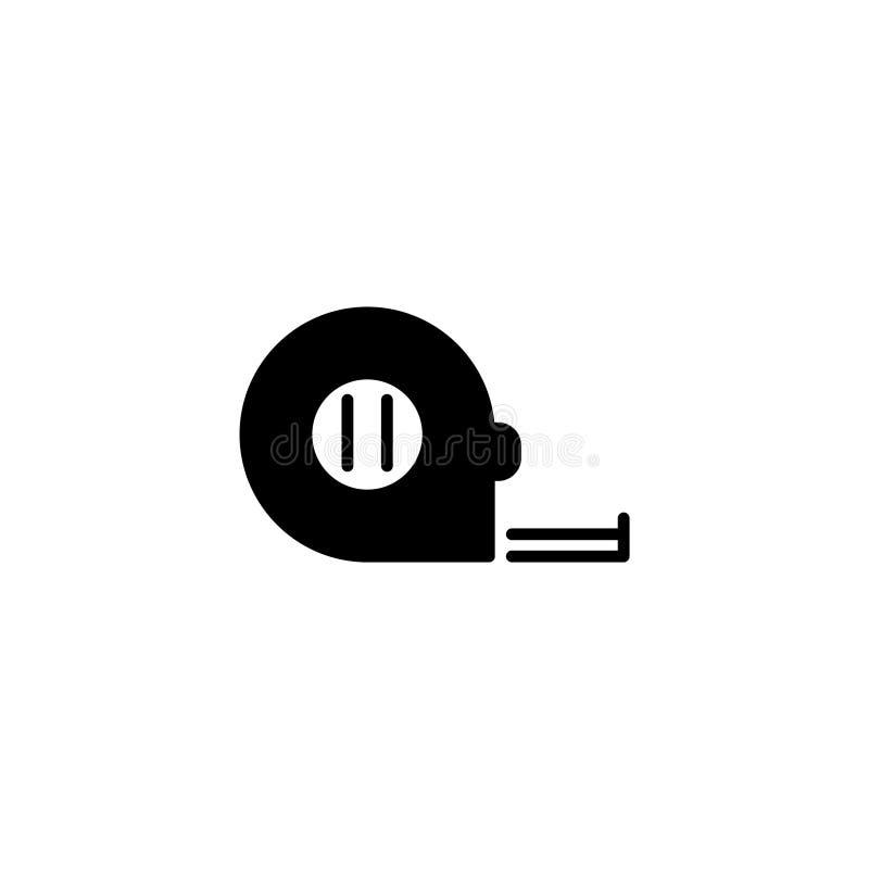 线象 设备打算长度评定评定磁带 库存例证