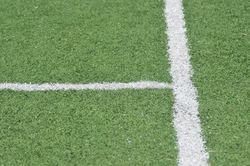 线足球 库存图片