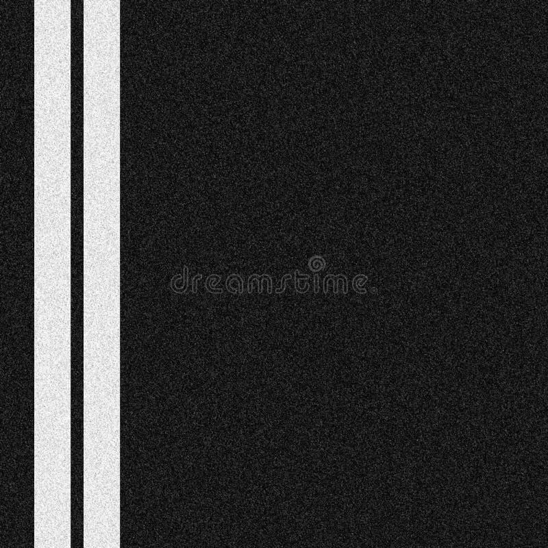 线路二白色 库存例证